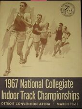 1967 NCAA INDOOR TRACK CHAMPIONSHIPS PROGRAM FEATURING JIM RYUN 3:58.6 MILE