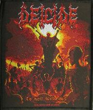 DEICIDE AUFNÄHER / PATCH # 6 TO HELL WITH GOD