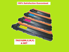 TN210 (BK,C,M,Y) Color Toners Combo Set for Brother HL-3040CN,HL-3045CN, 3070CW