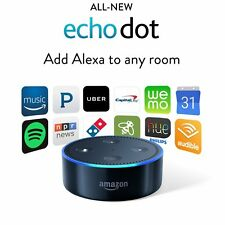Brand New Amazon Echo Dot 2nd Generation w/ Alexa Voice Media Device 2016 Black