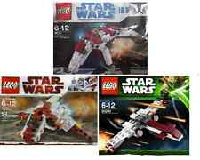 3x lego star wars/the clone wars chasseur 30240 z-95 30247 Arc 8031 v-19 polybags