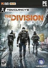 Tom Clancy's The Division (PC, 2015) Physical Game Brand New Ships Quick!!!