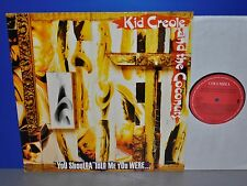 Kid Creole and the Coconuts You Shoulda told me were Vinyl M- LP cleaned sauber