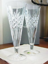 Waterford Crystal SPECIAL LONG DRINKS PILSNER Glasses  Set / 2   IRELAND - NEW!
