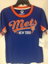 Hands High New York Mets Blue Down The Stretch Tshirt Sample Women's M