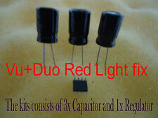 Vu Duo Red Light fix repair Regulator U801 Capacitor C807 VU Z1021AI AOZ1021 Fix