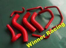 silicone hose kit for Mazda MX-5 MX5 Miata B6ZE 1.6L 1990-1993 1991 1992 RED