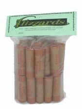 Quarter Crimped End (Gunshell) Paper Coin Wrappers, 40 pack