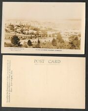Australia Real Photo Postcard - 1925 U.S. Fleet Visit - Section of Perth