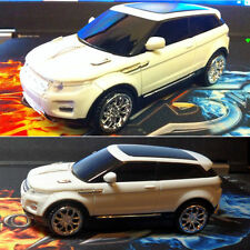 2.4 ghz Land Rover Gama evoque 3d coche forma Usb Óptico Wireless Gaming Mouse Reino Unido