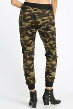 Camouflage JOGGERS Camo Army pants leggings pockets Polyester M L XL