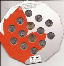 2010 Vancouver Official Royal Canadian Mint Olympic RCM Proof Like PL Set