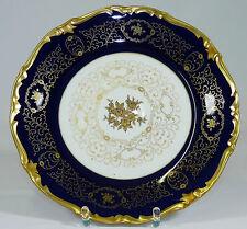 REICHENBACH - 28cm Teller PRUNKTELLER Zierteller - BAROCK - Kobalt-Blau GOLD