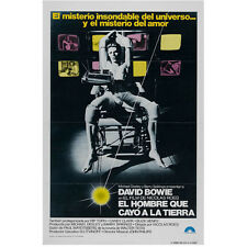 David Bowie Spanish in Chair El Hombre Que Cayo a La Tierra  8 x 10 Inch Photo