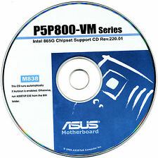 ASUS P5P800-VM  Motherboard Drivers Install  M838