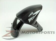 2008-2010 ZX-10R ZX10R Front Tire Fender Wheel Fairing Cowl 100% Carbon Fiber