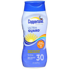 Coppertone ultraGUARD Lotion SPF 30 Sunscreen 8 OZ