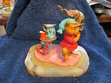 RON LEE Winnie The Pooh  And The Cookie Jar  DISNEY Item  #MM 830  Color Sample
