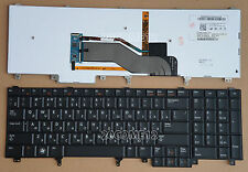 NEW For DELL PRECISION M4600 M4700 M6600 M6700 Keyboard Russian Backlit