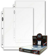 100 BCW 8 X 10 Photo Binder Pages-1 Box