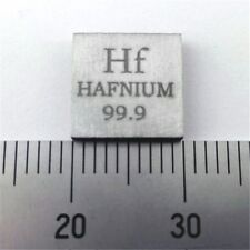 Pure Hafnium Metal Sheet 10X10X2mm 99.9% 0.1oz 2.8grams Element Hf Sample