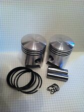 JAWA TS 350 FIRST OVERSIZE PISTON SET SET 58.25mm