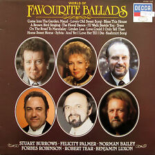 World Of Favourite Ballads Robert Tear Felicity Palmer Decca 411 642-1 NM/EX
