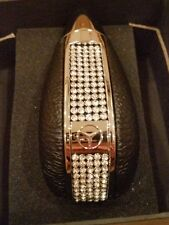 Bling Bling Crystal Rhinestone Leather Shift Knob For Mersedes Benz Shifter