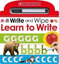 Scholastic Early Learners: Learn to Write by Inc. Staff Scholastic (2016,...