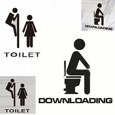 Universal Waterproof PVC Removable Bathroom Toilet Wall Stickers Glass Decal