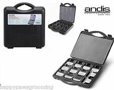 ANDIS AG BG CLIPPER BLADE Protective Storage CASE Tote*For Oster A5,Wahl,Laube