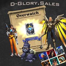 Overwatch Orgins: Digital Goodies (Hearthstone Card Back, Diablo 3 Wings & more)