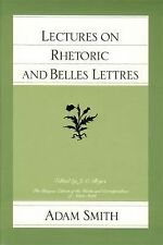Lectures on Rhetoric and Belles Lettres (The Glasgow Edition of the Works and Co