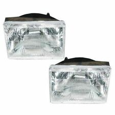 1993 - 1996 JEEP GRAND CHEROKEE HEADLIGHTS HEADLAMPS LIGHTS LAMPS PAIR
