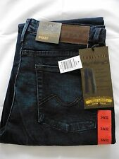 Urban Star men's jeans - relaxed fit - straight - 34 x 32 - midnight blue - NEW!