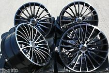 "18"" GT2 ALLOY WHEELS FIT VW CADDY JETTA EOS SCIROCCO CC"
