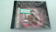 "PAU CASALS ""J.S. BACH 3 SONTAS FOR CELLO BEETHOVE"" CD 10 TRACKS PRECINTADO PABLO"
