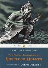 The Great Adventures of Sherlock Holmes (Puffin Classics)-ExLibrary