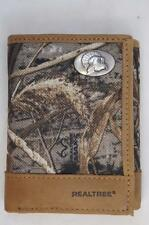 ZEP-PRO TURKEY Leather & Nylon REALTREE MAX-5  Camo Trifold WALLET