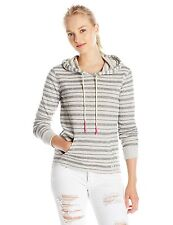 2015 NWT WOMENS BILLABONG TIME CHANGE PULLOVER HOODIE $45 S midnight stripes
