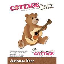 Jamboree Bear Die Steel Craft Die Cutting Dies COTTAGE CUTZ CC258 New