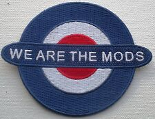 Somos los mods Azul, Blanco Y Rojo Bordado Parche