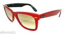 Authentic RAY-BAN Wayfarer Limited Edition TYPADELIC Sunglass 2140 - 109151  NEW