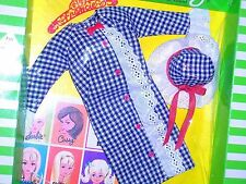 Vintage 1968 Francie Casey Twiggy Side Kick Variation Lace Outfit MIB NRFB Mint!