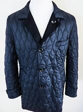 $5430 TOM FORD Rare Blue Reversible Coat Overcoat Topcoat Size XL 56 Euro 46 US