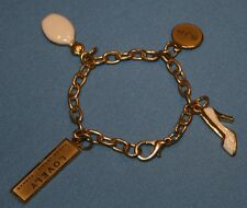 Sarah Jessica Parker Lovely Charm Bracelet Jewelry Costume Bangle