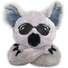 Kool the Koala Stuffed Animal Plush Toy Soft Throw Travel Pillow Pet Hat Holder