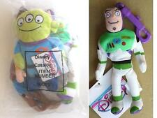 """8"""" ALIEN and 4"""" Buzz LightYear keychain Toy Story Plush Bean Bag Free Shipping"""