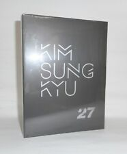 INFINITE KIM SUNG KYU 2nd Mini Album [ 27 ] CD + Photocard Sealed Music CD