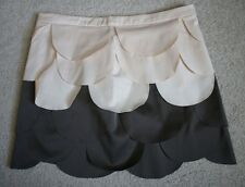 NWT RYU $78 Womens Beige Brown Pedal Skirt LARGE
